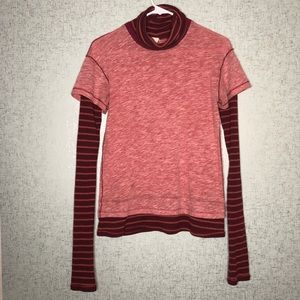 We the Free Free People Piper Twofer Turtleneck